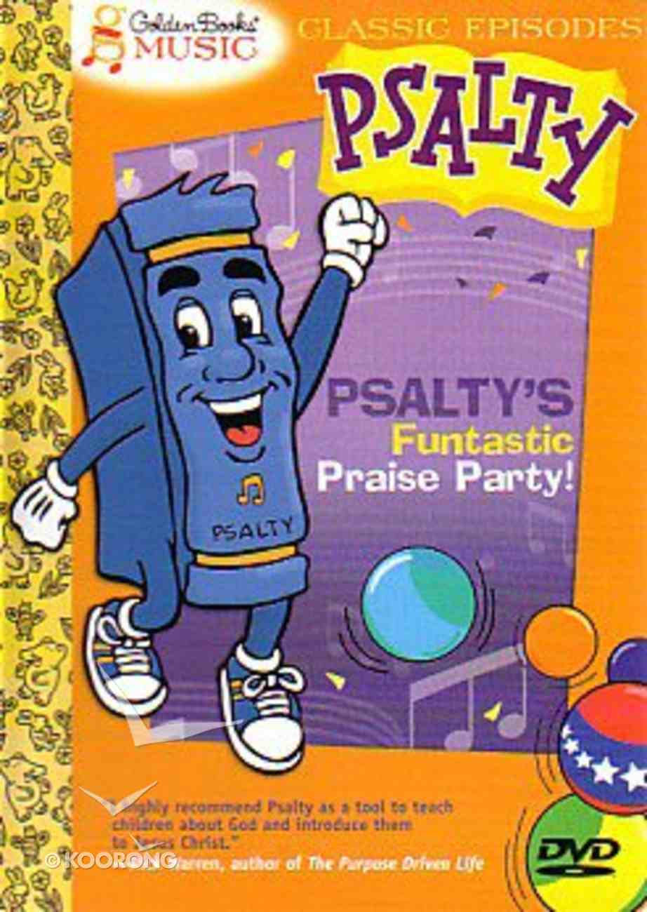 Psalty's Funtastic Praise Party DVD