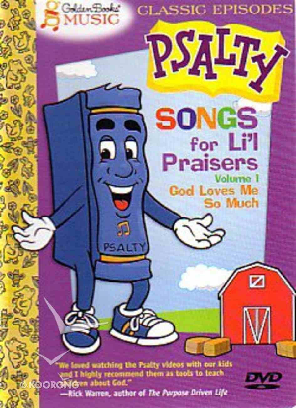 Psalty's Songs For Lil' Praisers Volume 1 DVD