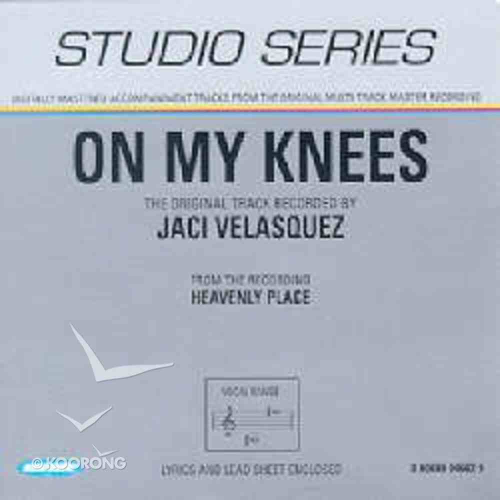 On My Knees (Accompaniment) CD