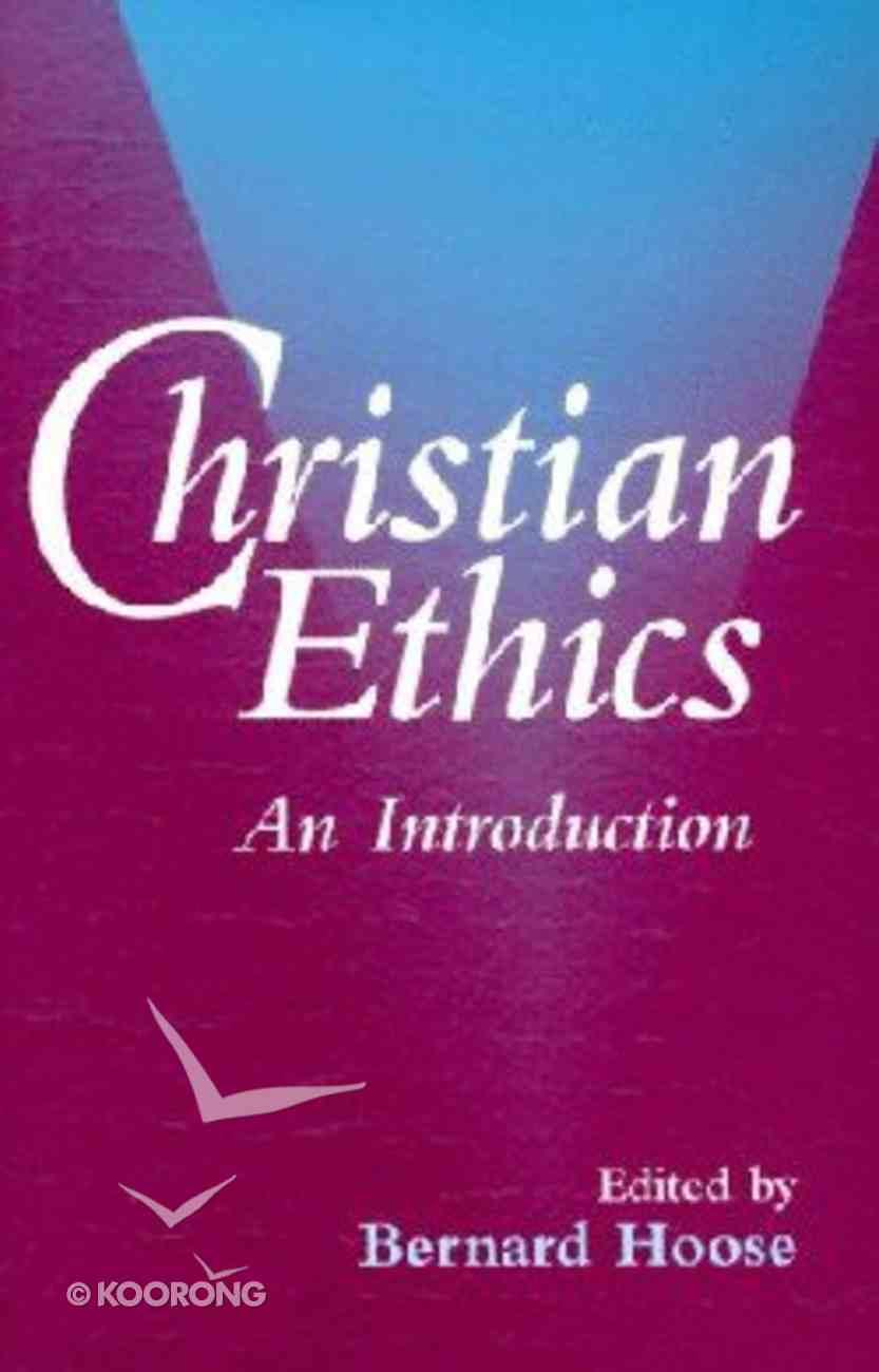Christian Ethics Paperback