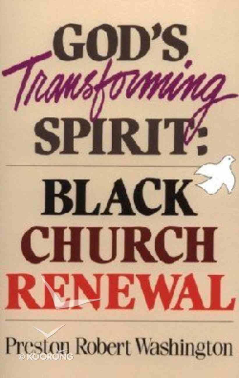 God's Transforming Spirit Paperback