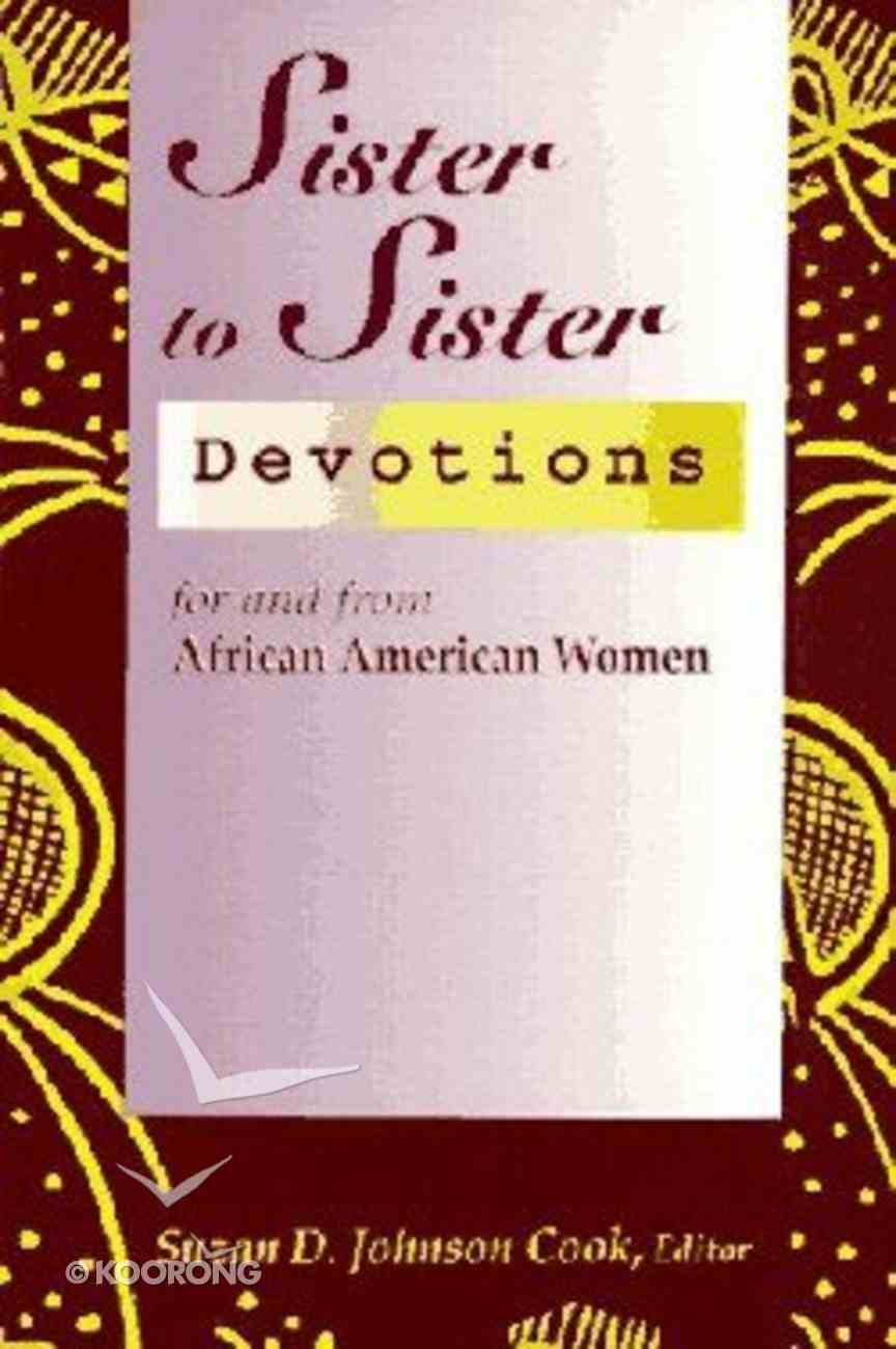 Sister to Sister African American (Vol 1) Paperback
