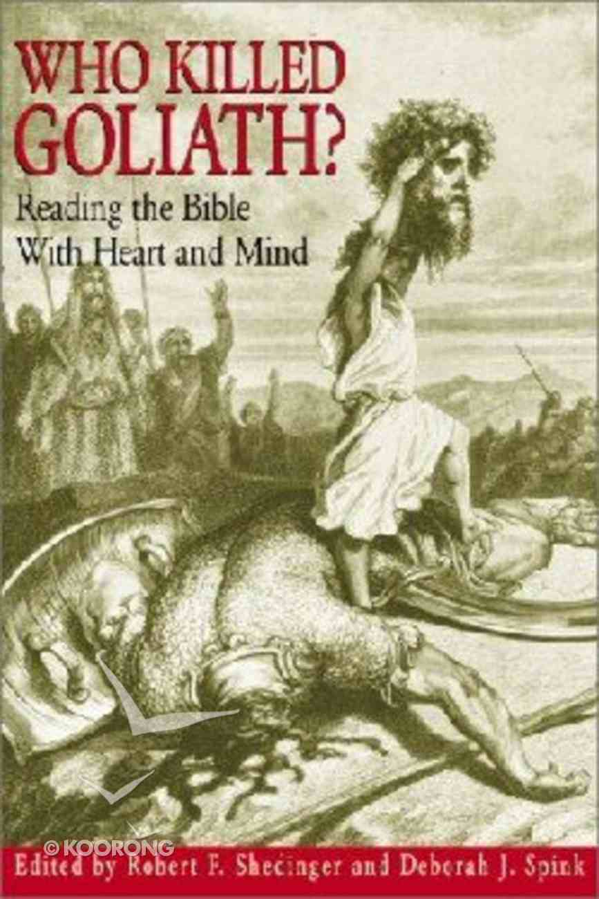 Who Killed Goliath? Paperback