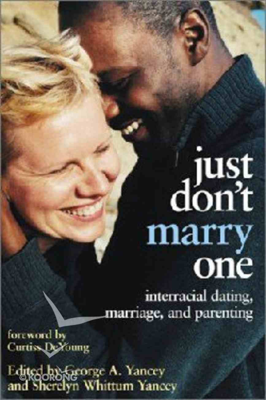 Just Don't Marry One Paperback