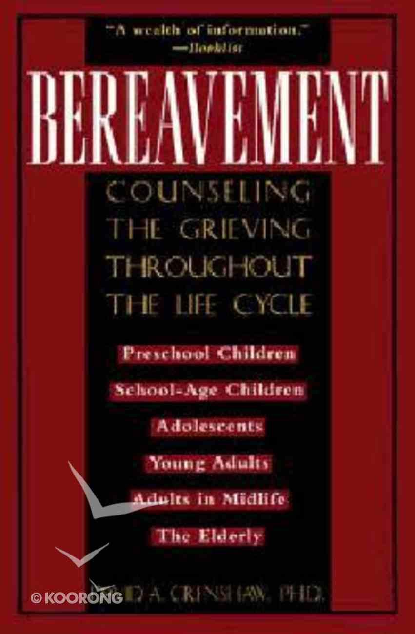 Bereavement Paperback