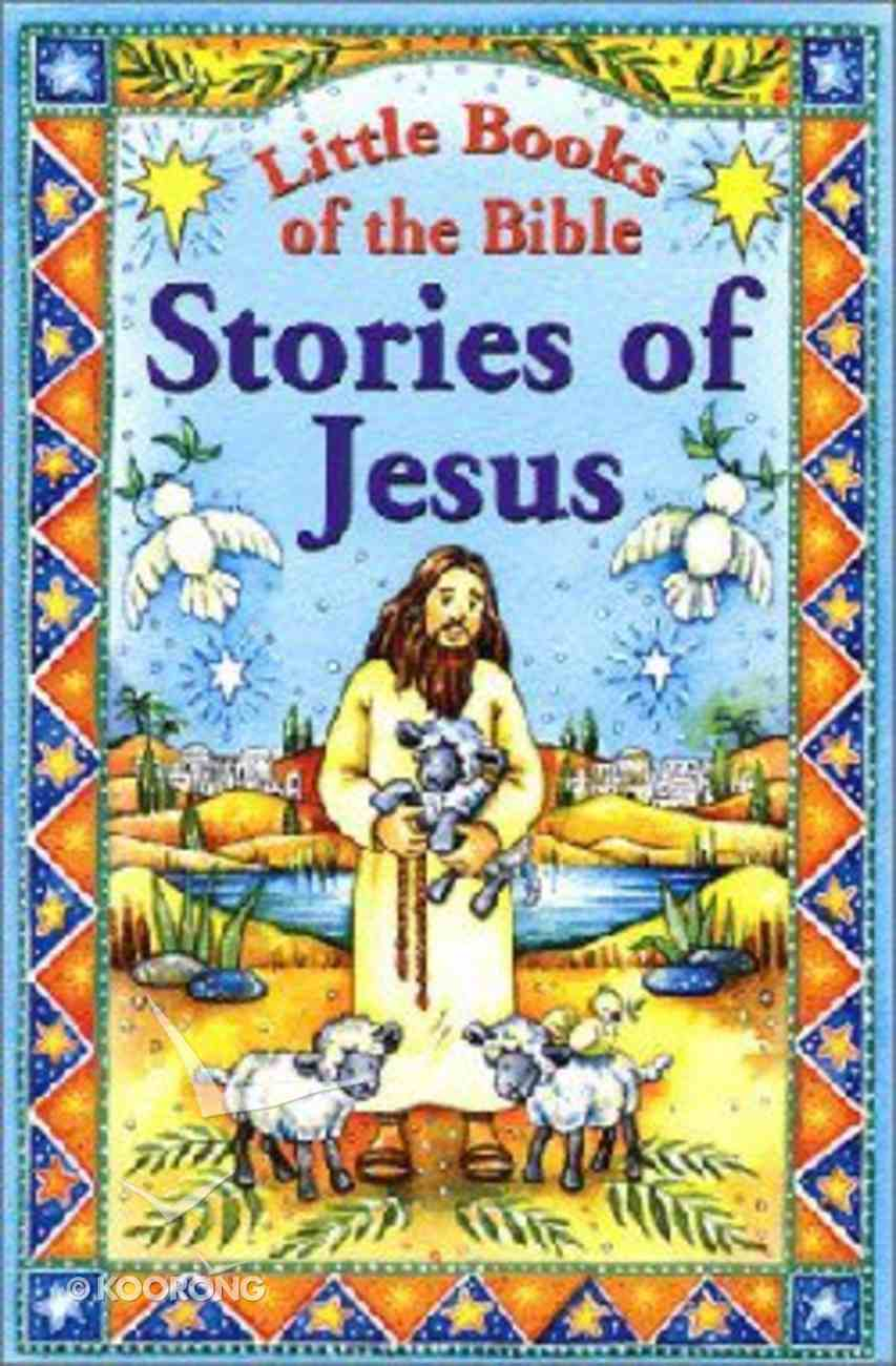 Little Books of the Bible: Stories of Jesus Paperback