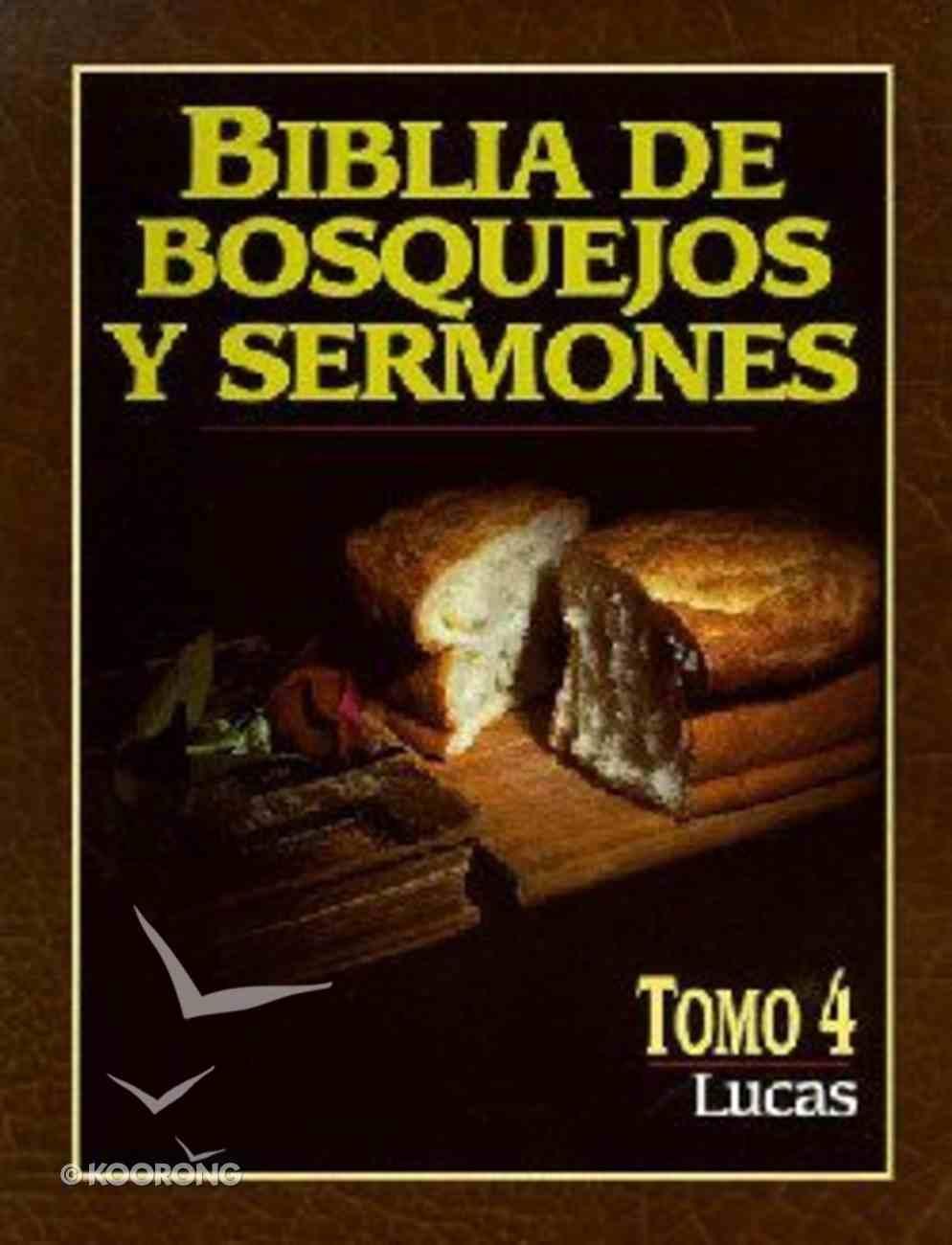 Biblia De Bosquejos Y Sermones #04: Lucas (Posb #04: Luke) (#04 in Preacher's Outline & Sermon Bible Series) Paperback