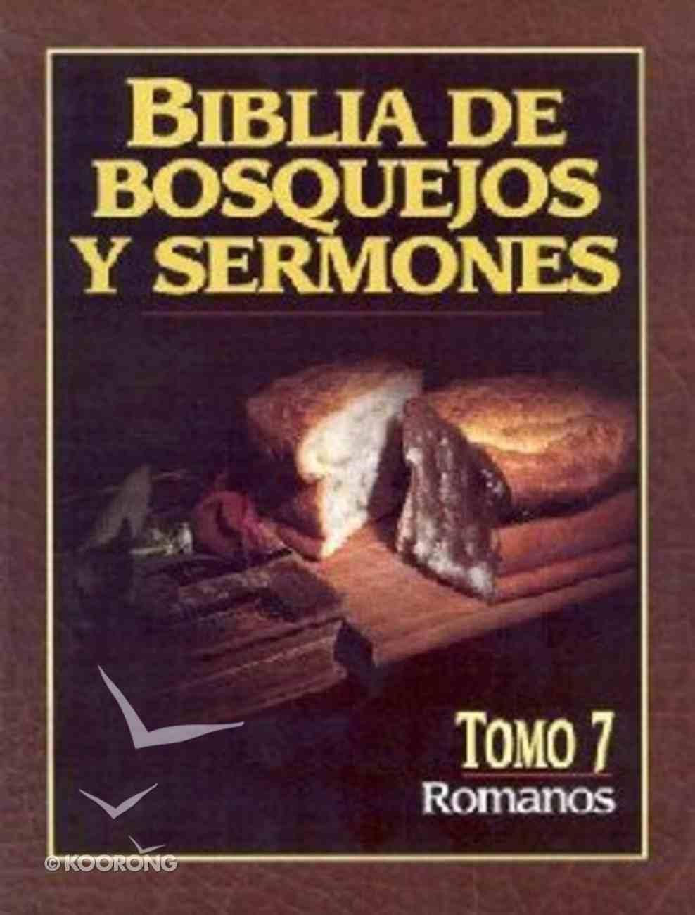 Biblia De Bosquejos Y Sermones #07: Romanos (Posb #07: Romans) (#07 in Preacher's Outline & Sermon Bible Series) Paperback