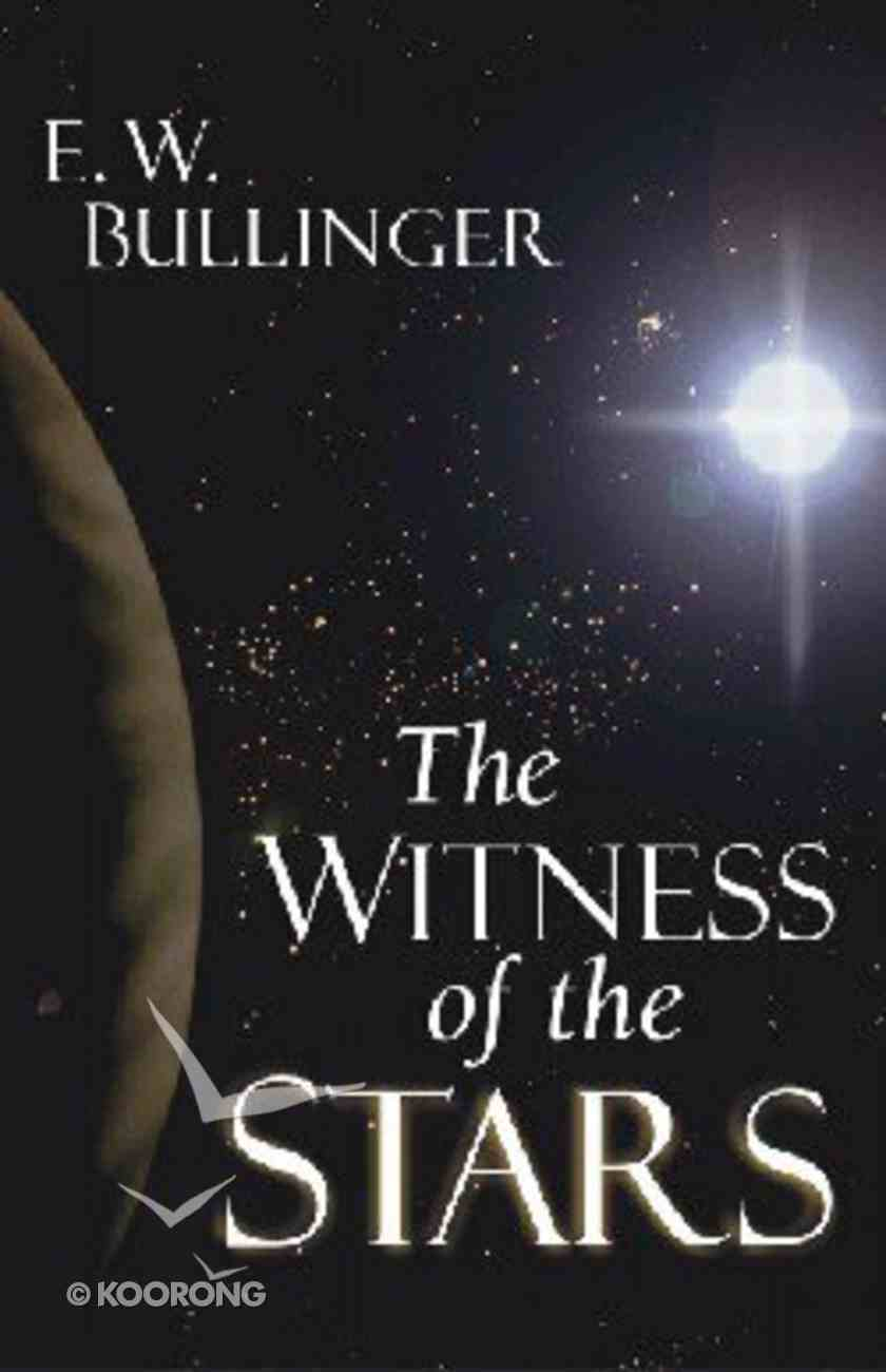 The Witness of the Stars Paperback