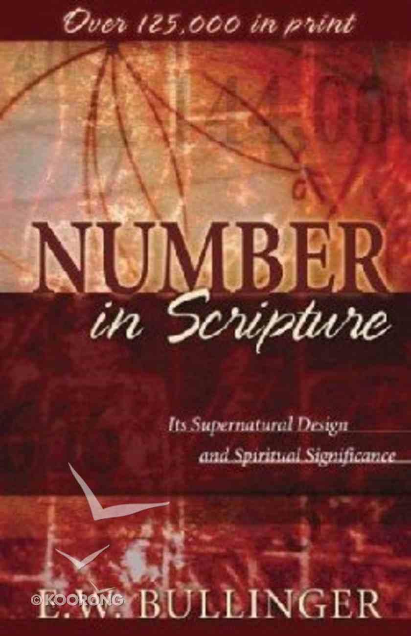 Number in Scripture Paperback