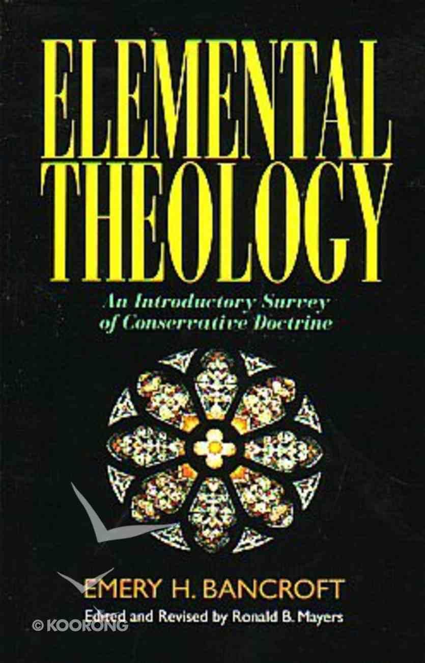 Elemental Theology Paperback