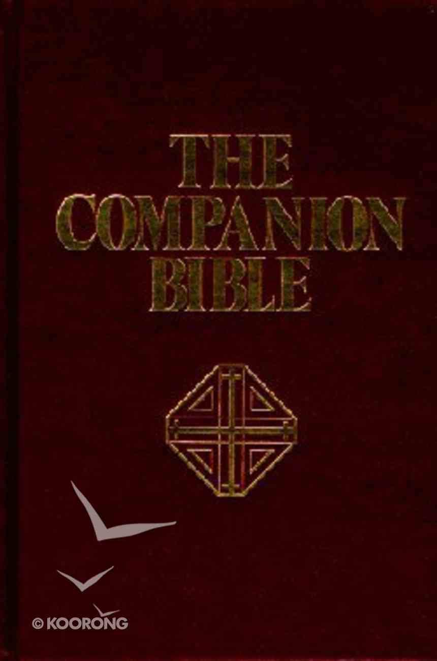 KJV Companion Bible, the Burgundy/Indexed Hardback