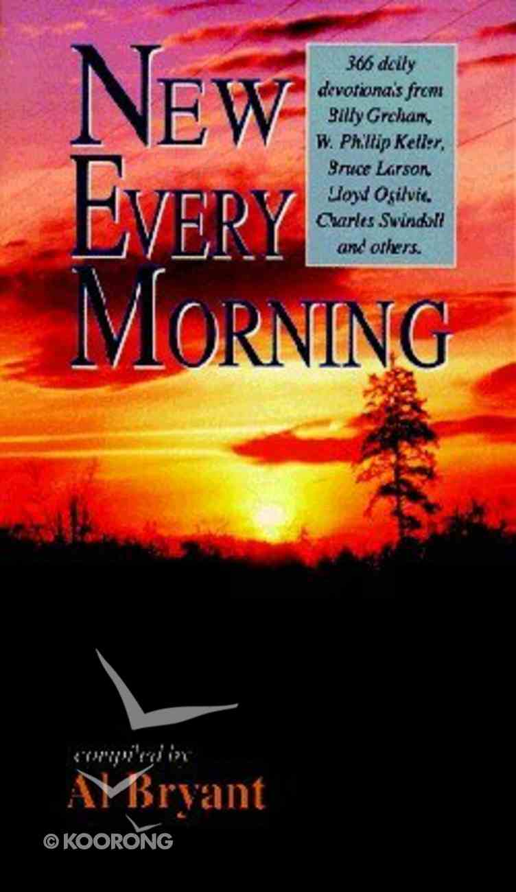 New Every Morning Paperback