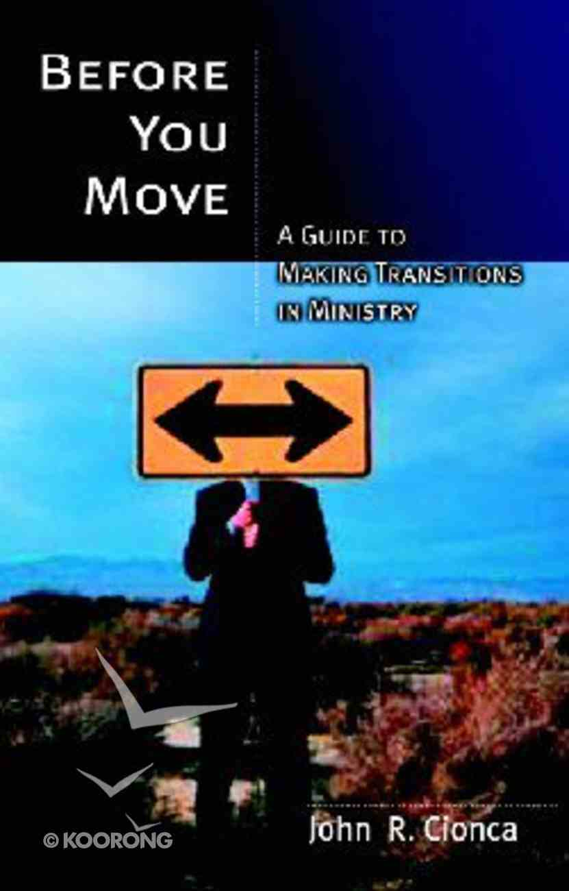 Before You Move Paperback