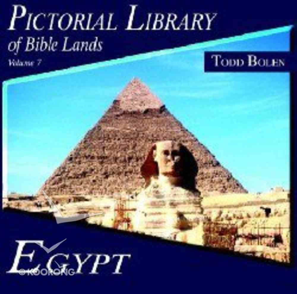 Pictorial Library of Bible Lands #07: Egypt CD