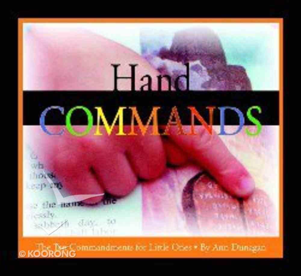 Hand Commands Board Book