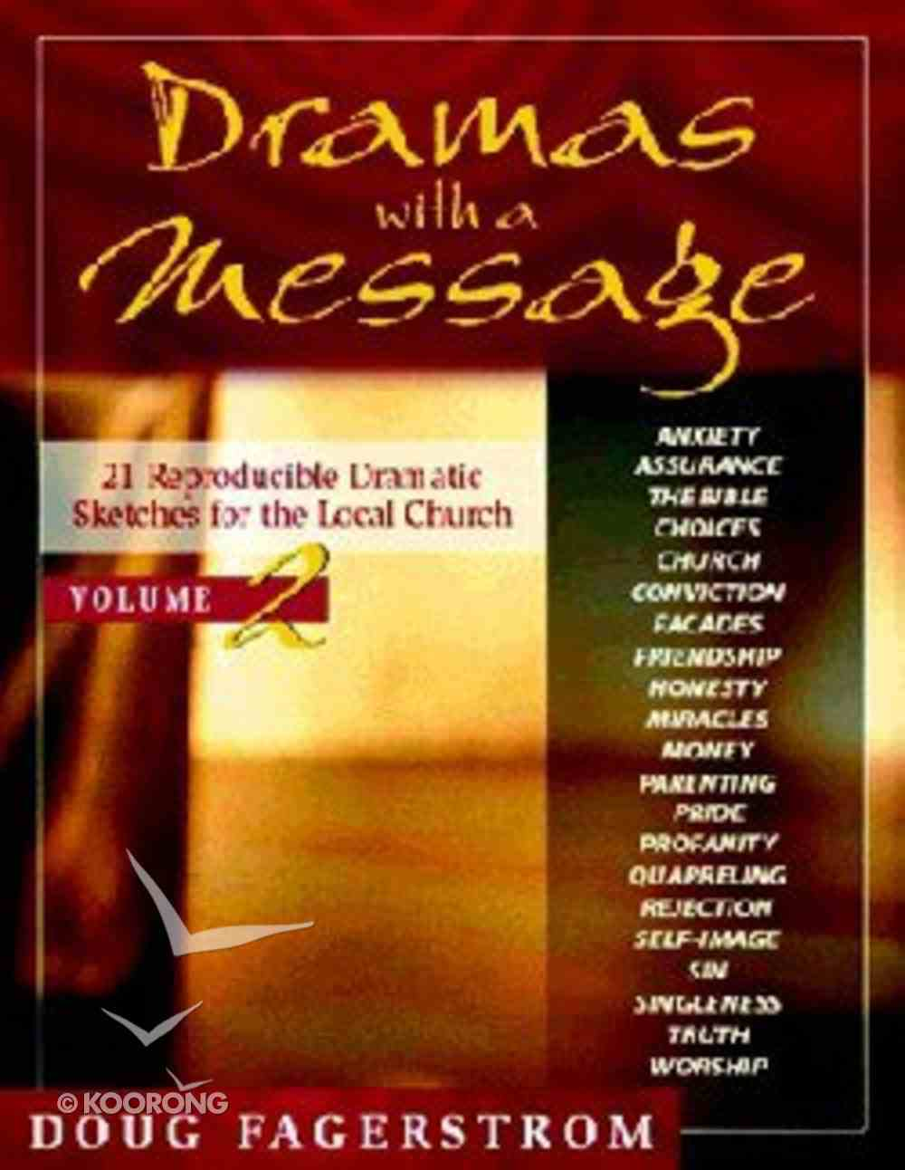 Dramas With a Message (Vol 2) Paperback