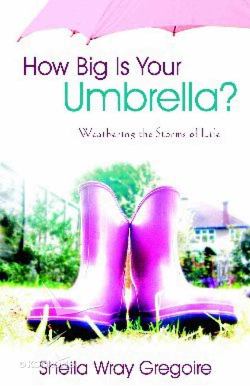 How Big is Your Umbrella? Paperback