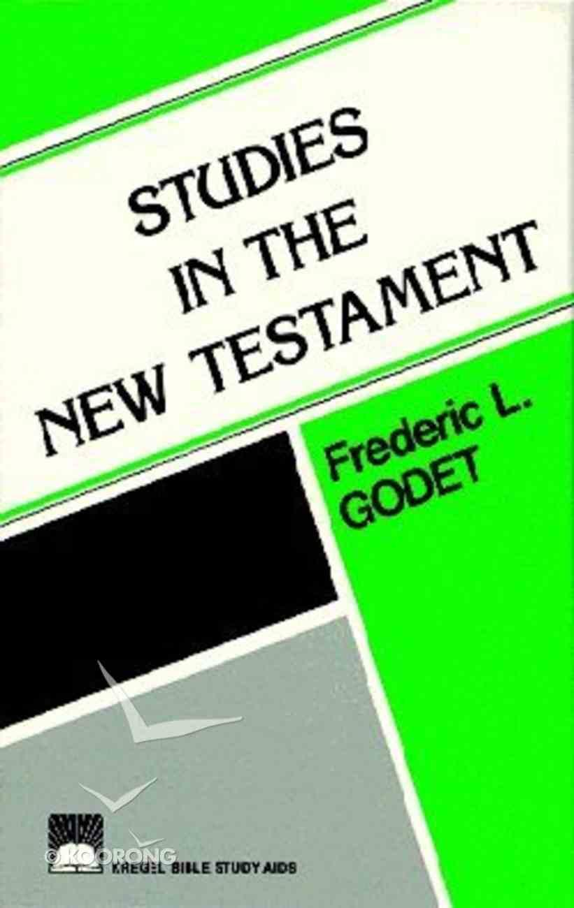 Studies in the New Testament Hardback