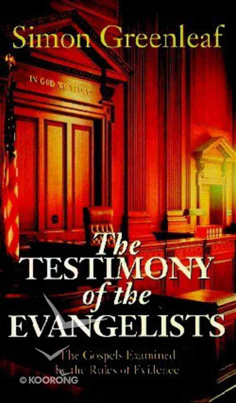 The Testimony of the Evangelists Paperback