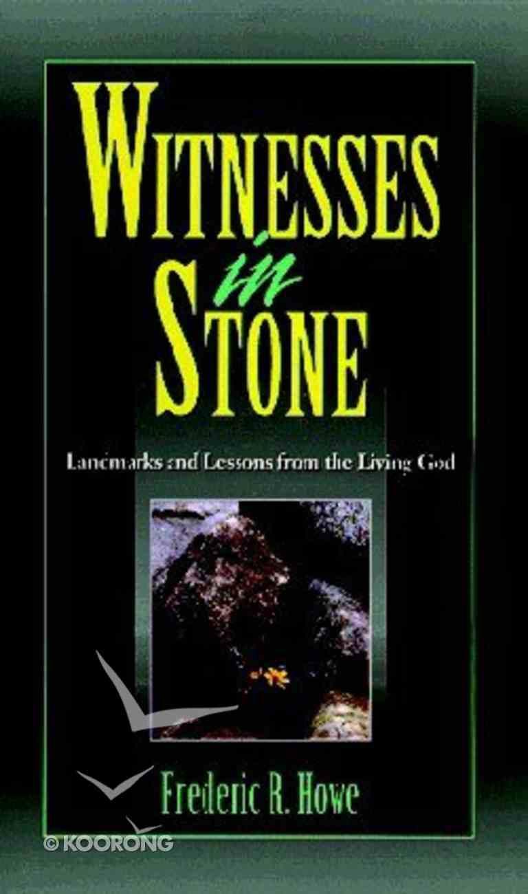 Witnesses in Stone Paperback