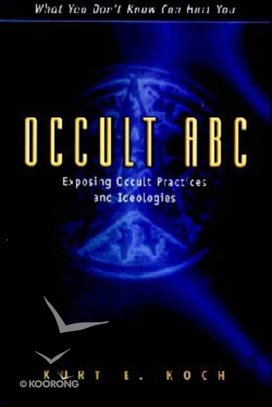 Occult ABC Paperback