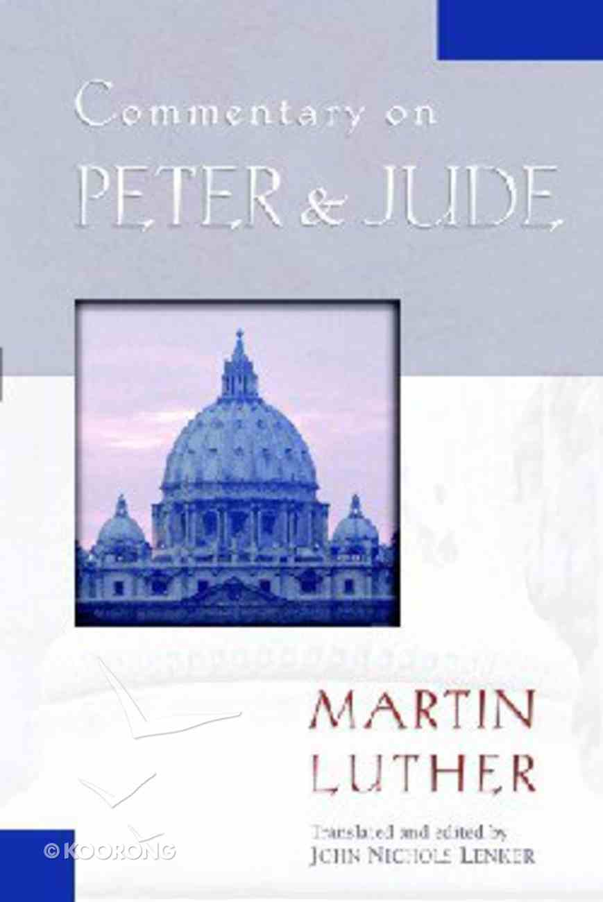 Commentary on Peter & Jude Paperback