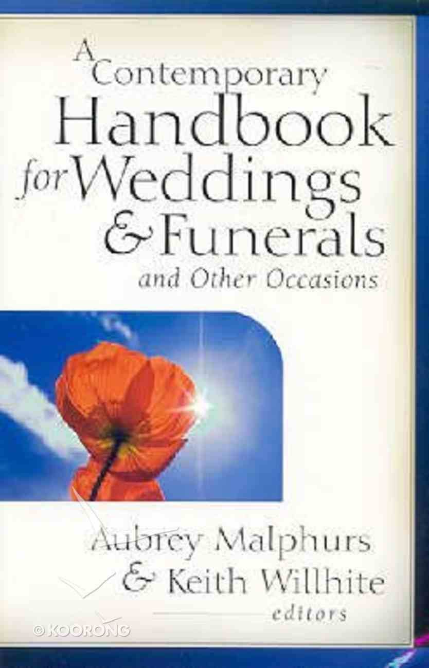 A Contemporary Handbook For Weddings & Funerals and Other Occasions Paperback
