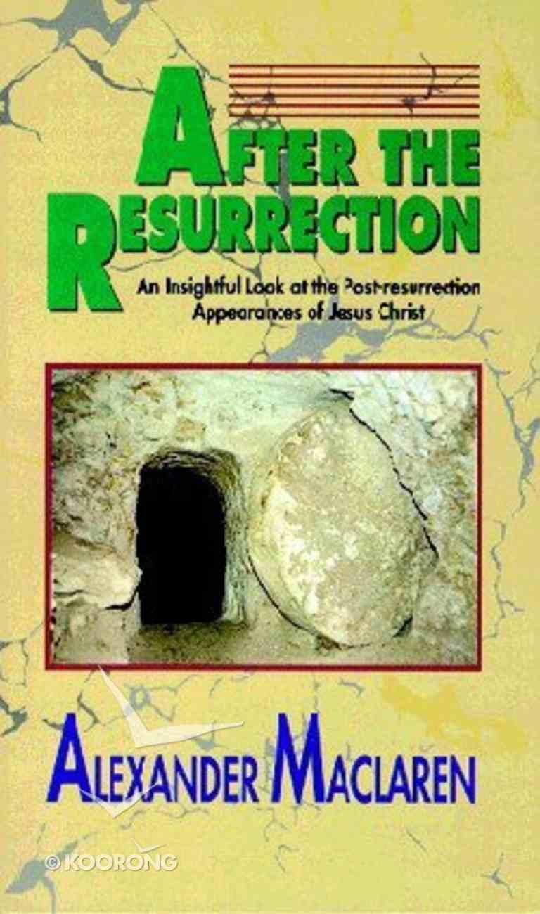 After the Resurrection Paperback
