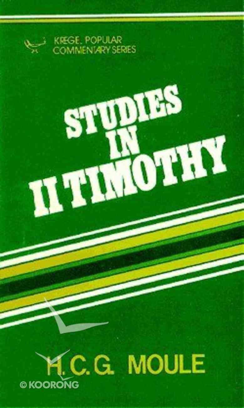 Studies in II Timothy Paperback