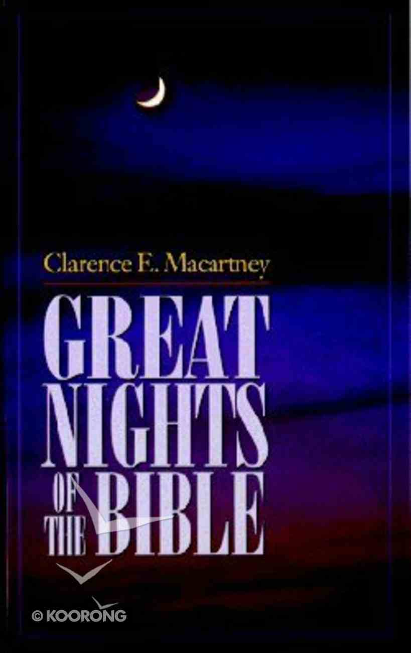 Great Nights of the Bible Paperback