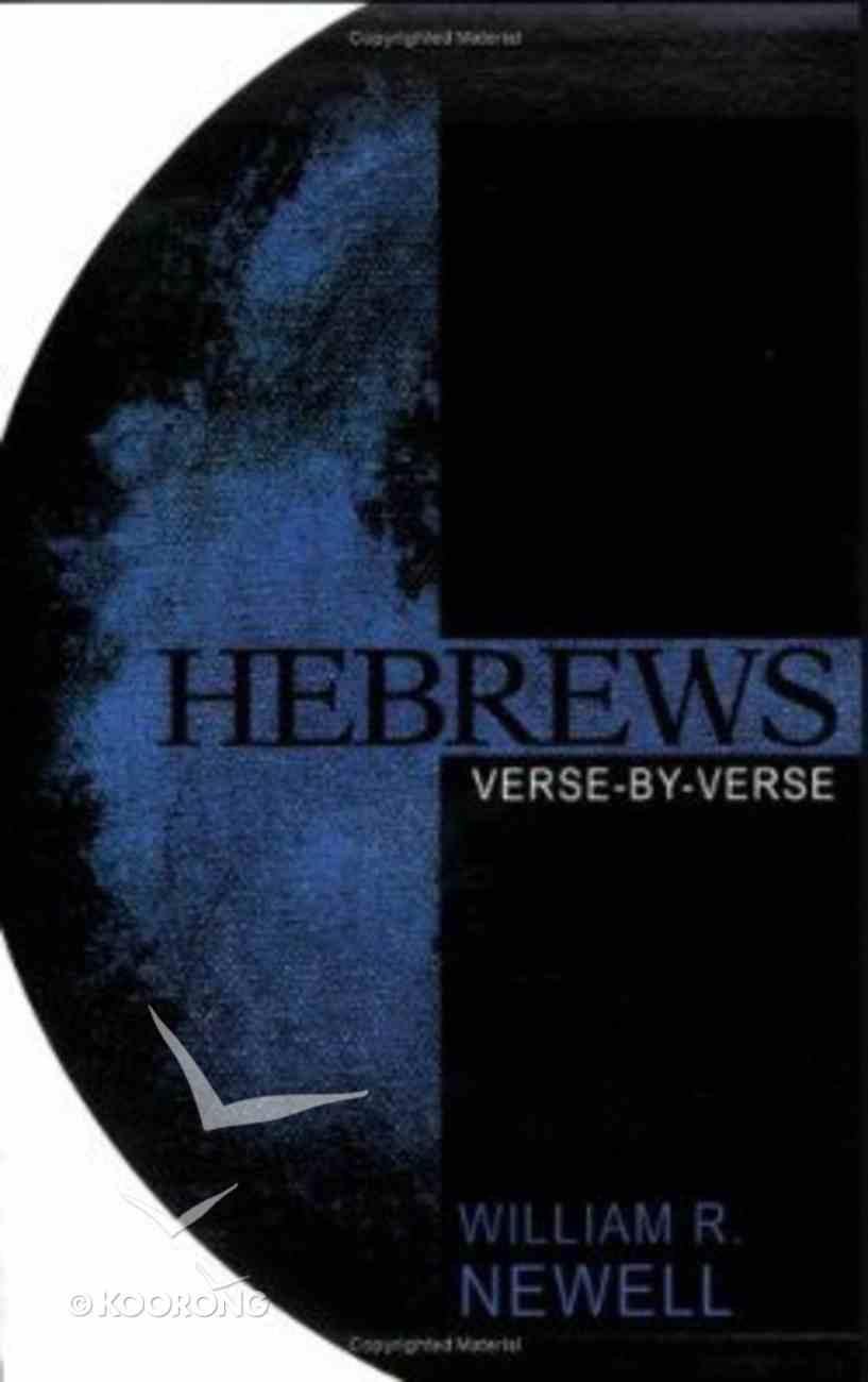 Hebrews: Verse-By-Verse Paperback