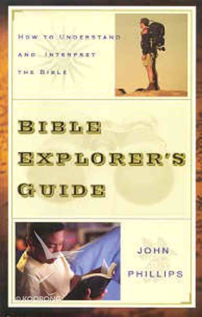 Bible Explorer's Guide Paperback