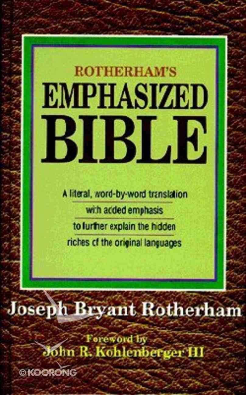 Rotherham's Emphasized Bible Hardback