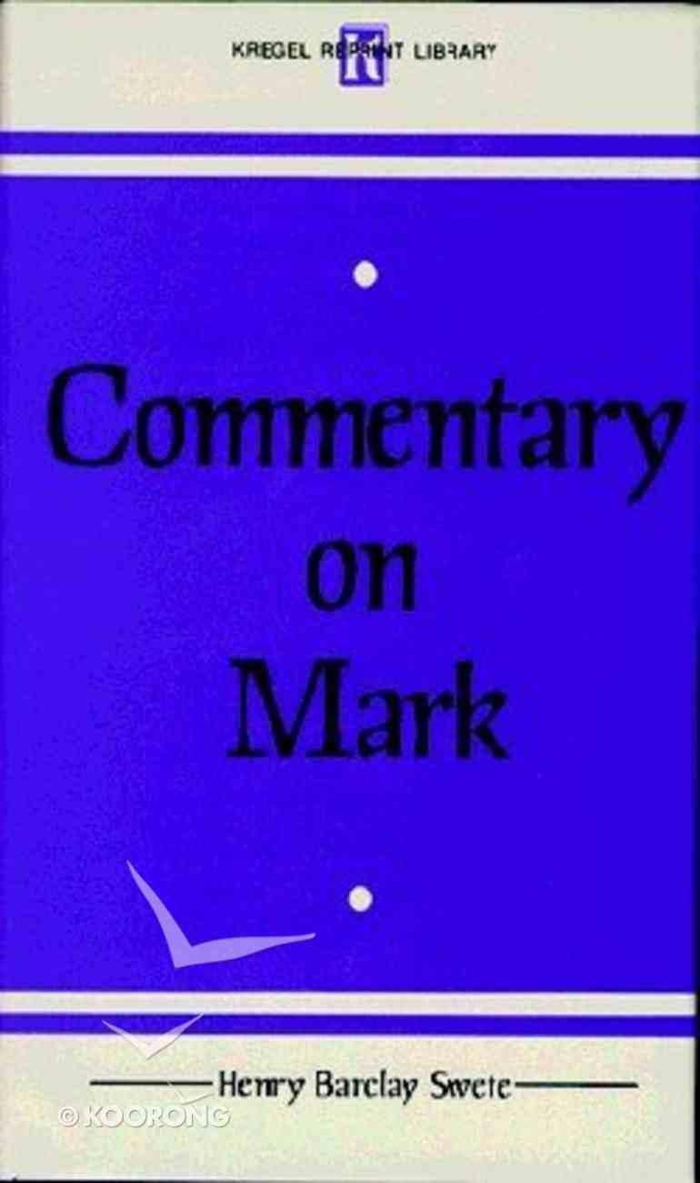 Commentary on Mark Hardback