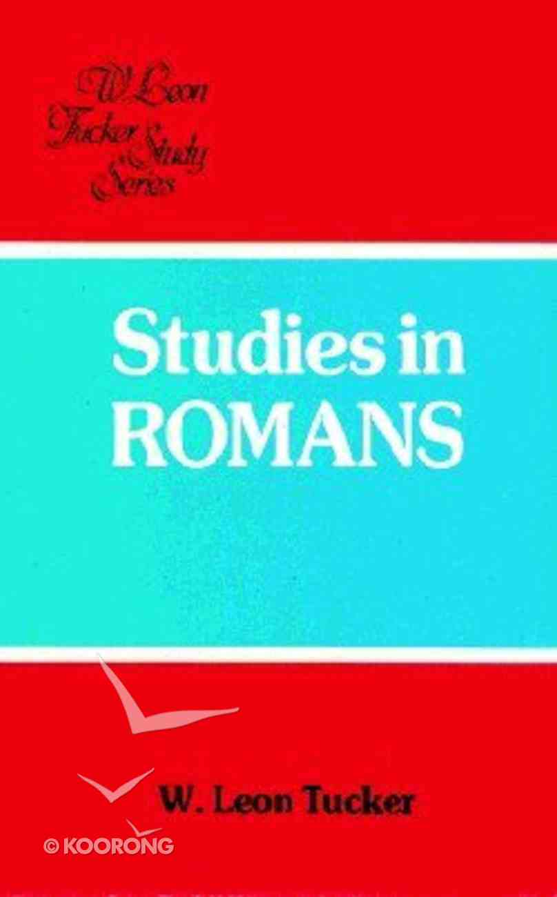 Studies in Romans Paperback