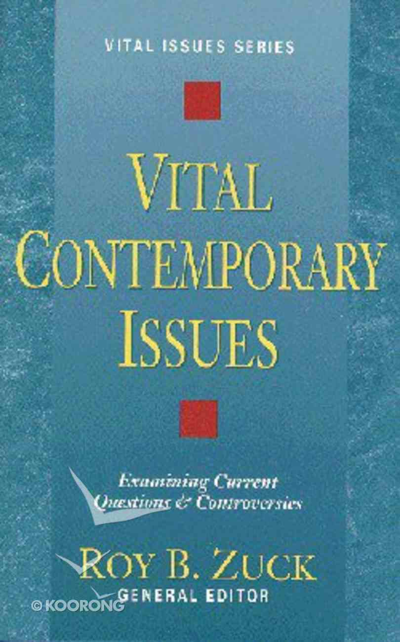 Vital Contemporary Issues Paperback