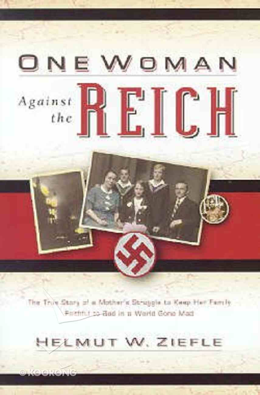 One Woman Against the Reich Paperback