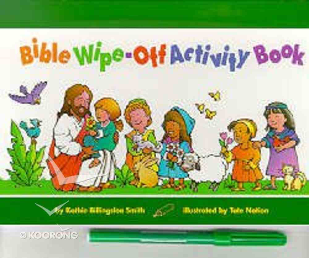 Bible Wipe-Off Activity Book Spiral