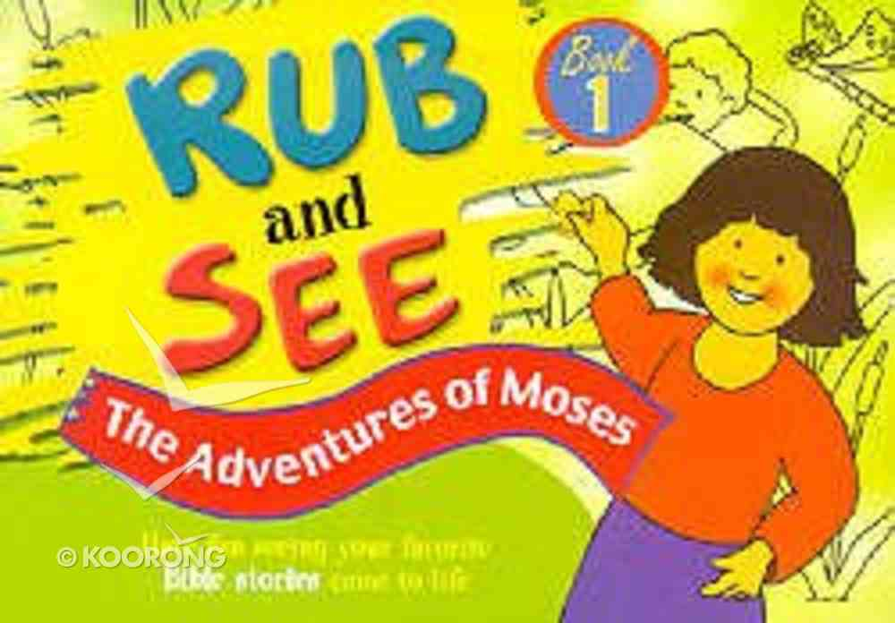 The Adventures of Moses (#01 in Rub And See Series) Paperback