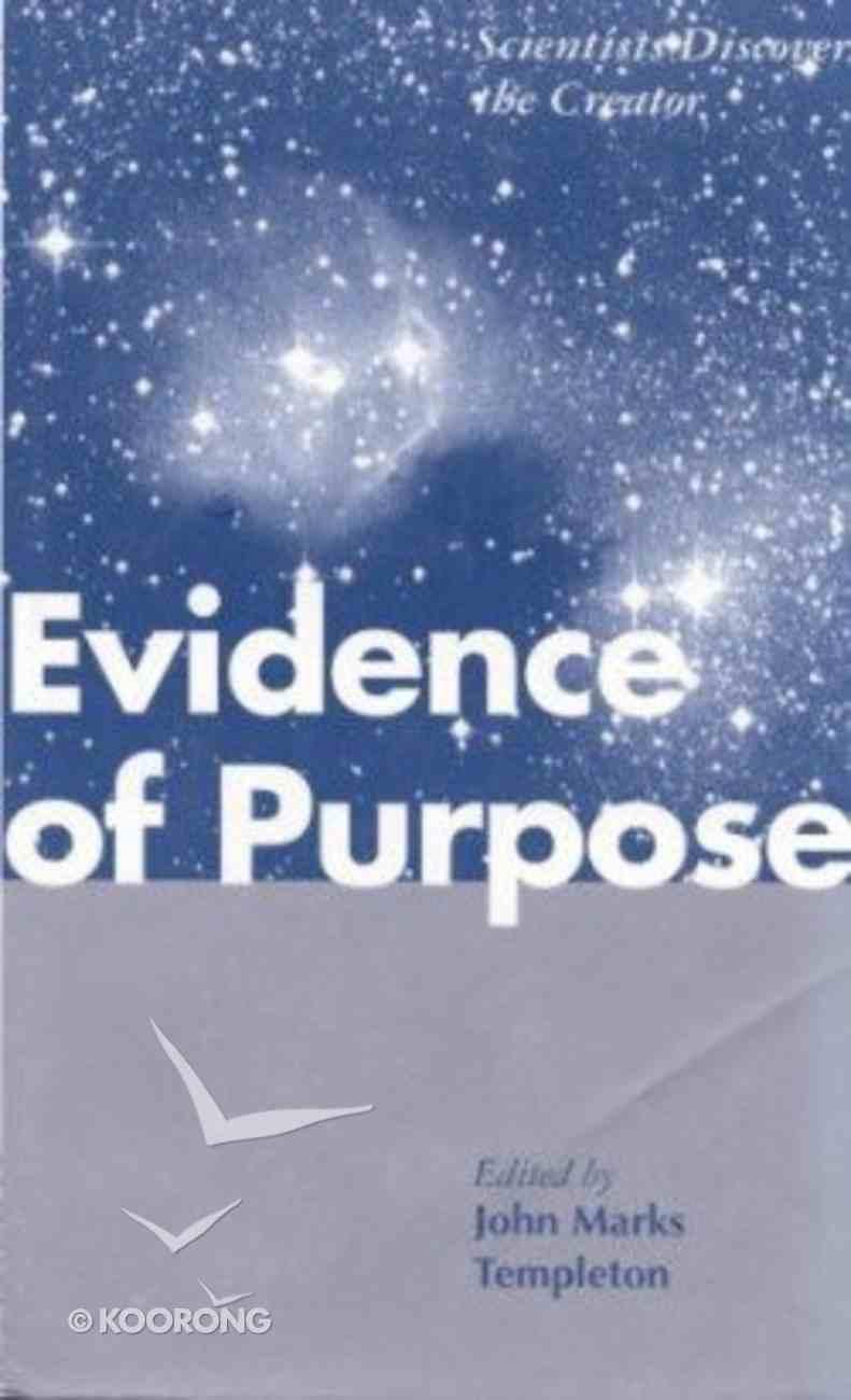 Evidence of Purpose Hardback