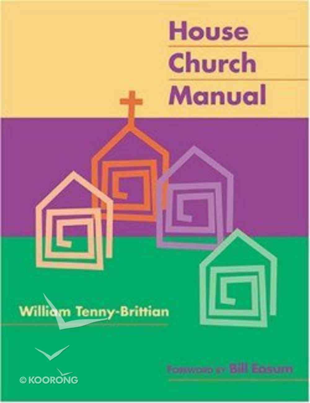 House Church Manual Paperback