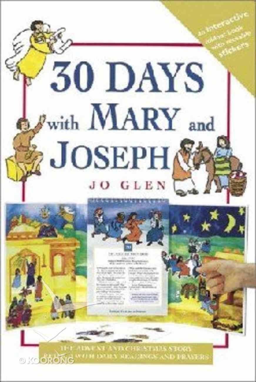 30 Days With Mary and Joseph Hardback