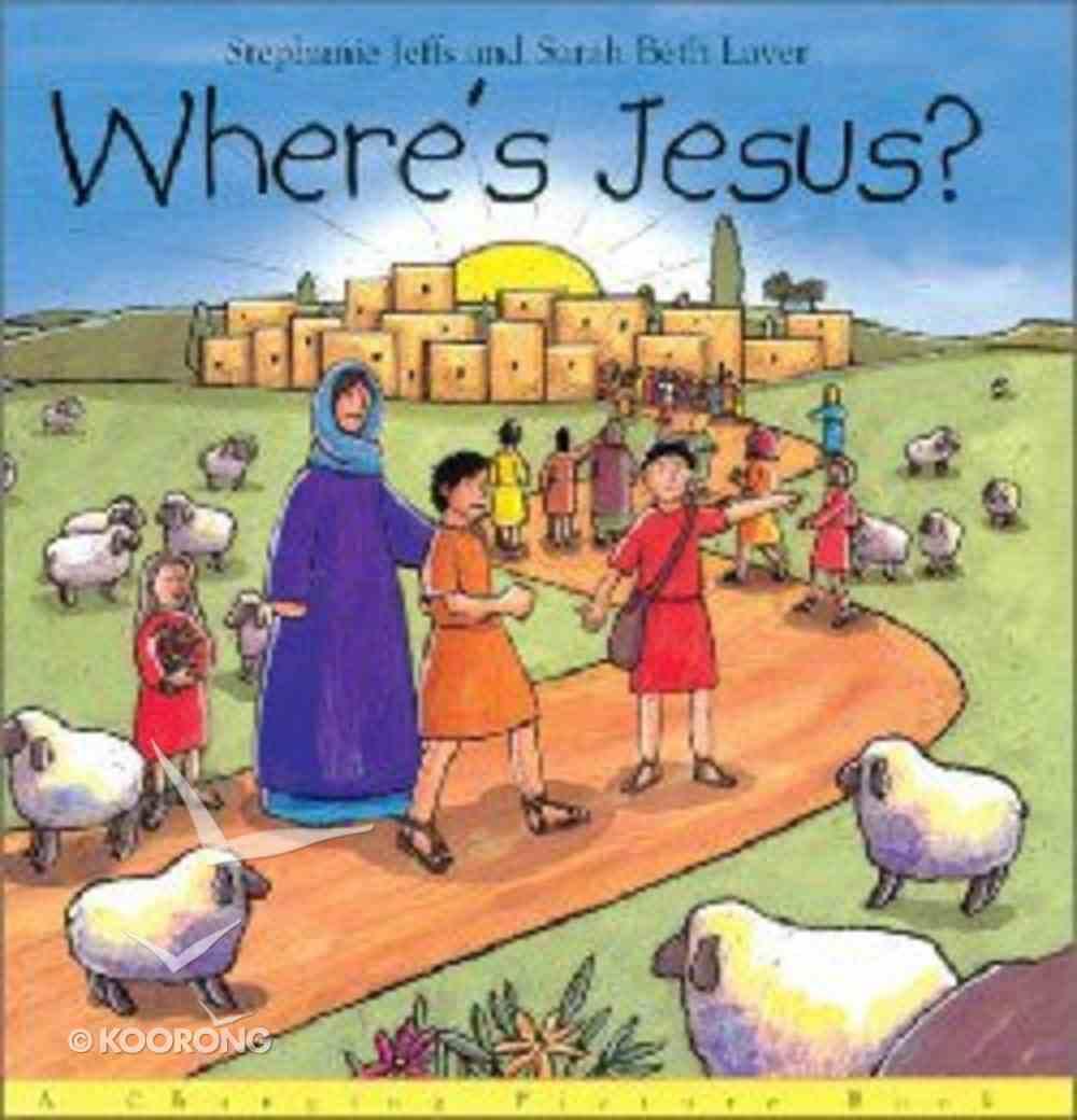 Where's Jesus? Hardback