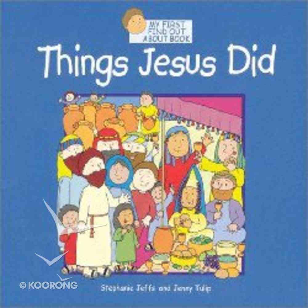 Things Jesus Did Paperback