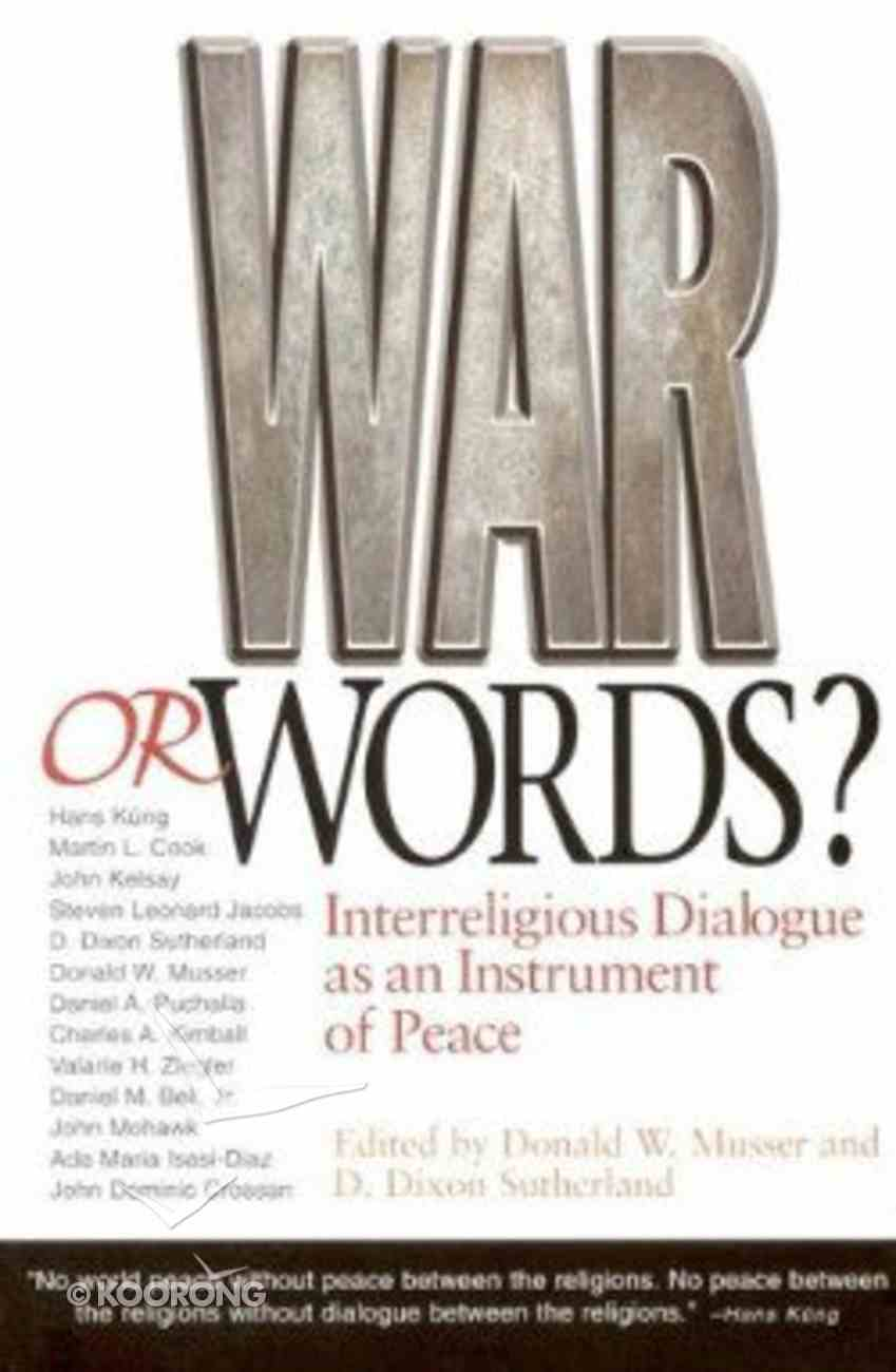 War Or Words? Paperback