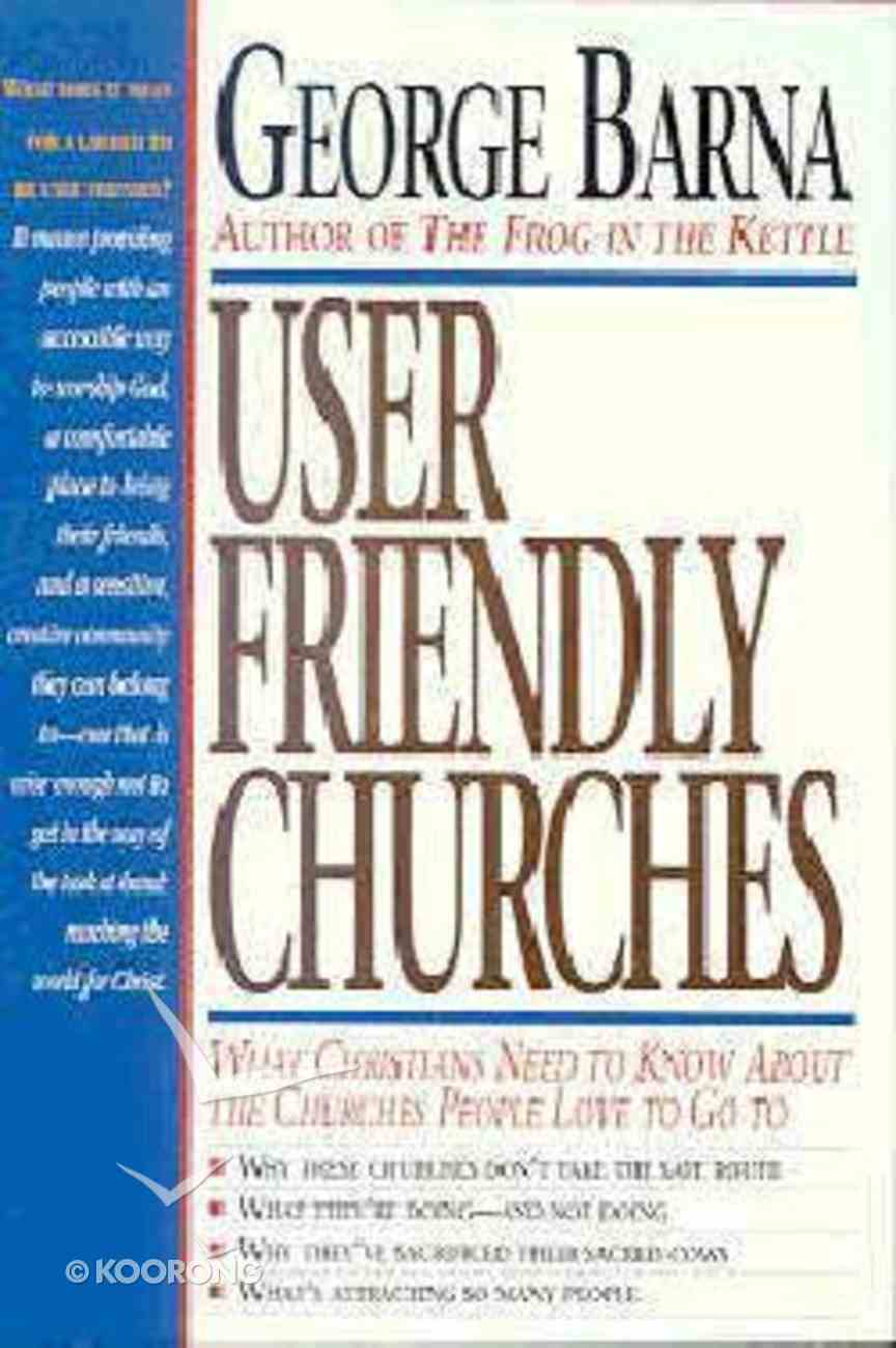 User Friendly Churches Paperback