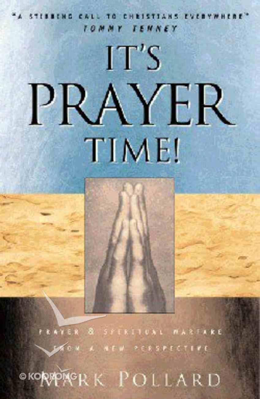It's Prayer Time Paperback
