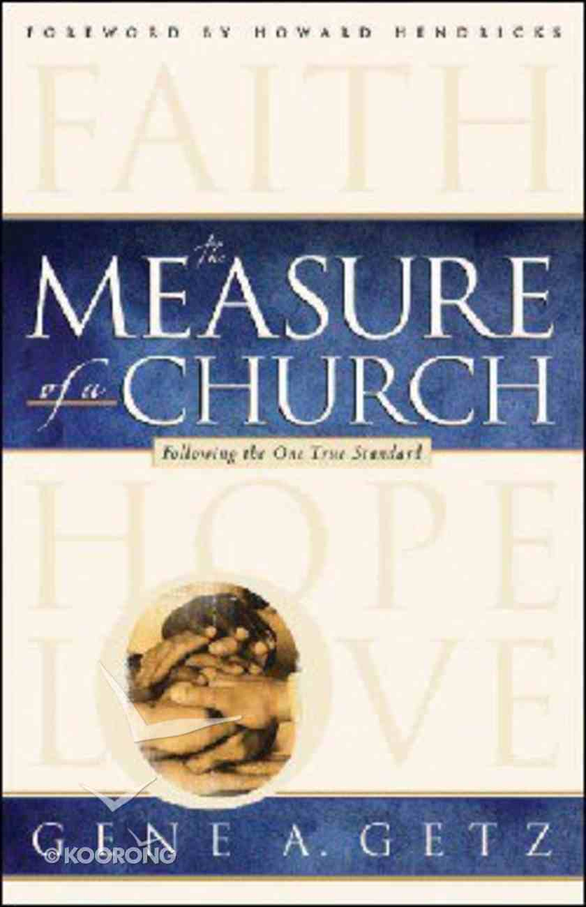 The Measure of a Church Paperback