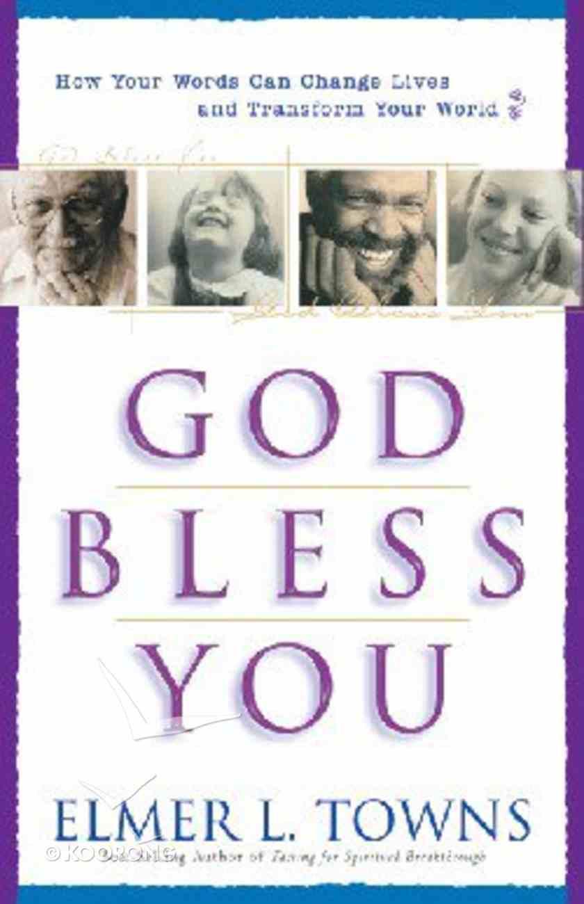 God Bless You Paperback